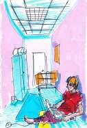 in hostel