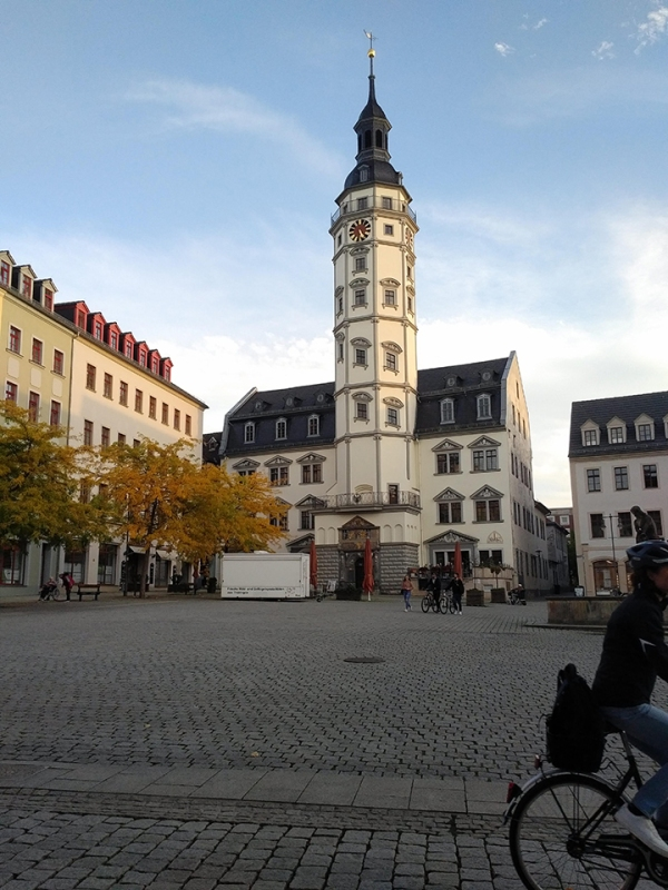 Rathaus Gera (former residential tower)