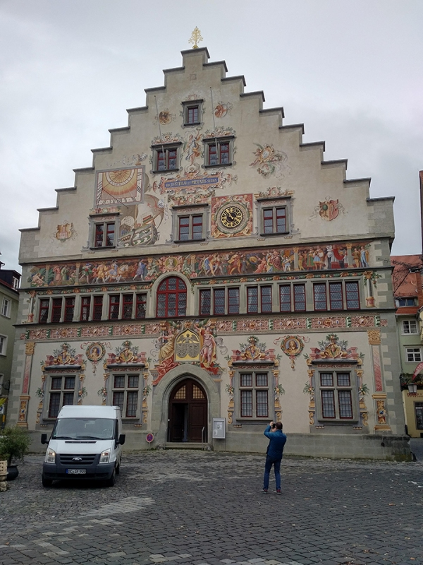 Altes Rathaus, 1422. Renewal in the 16th century