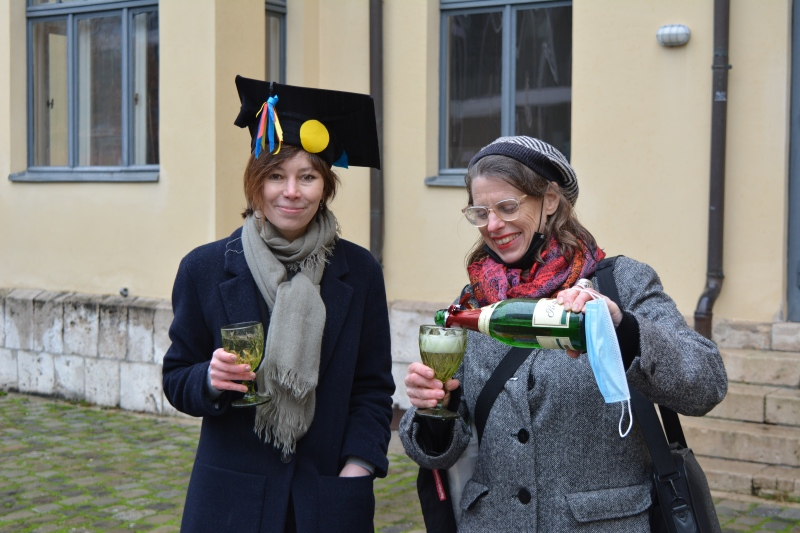 The defense has taken place Now in short - Dr.-Ing. Thank You, my dear Professors and Friends