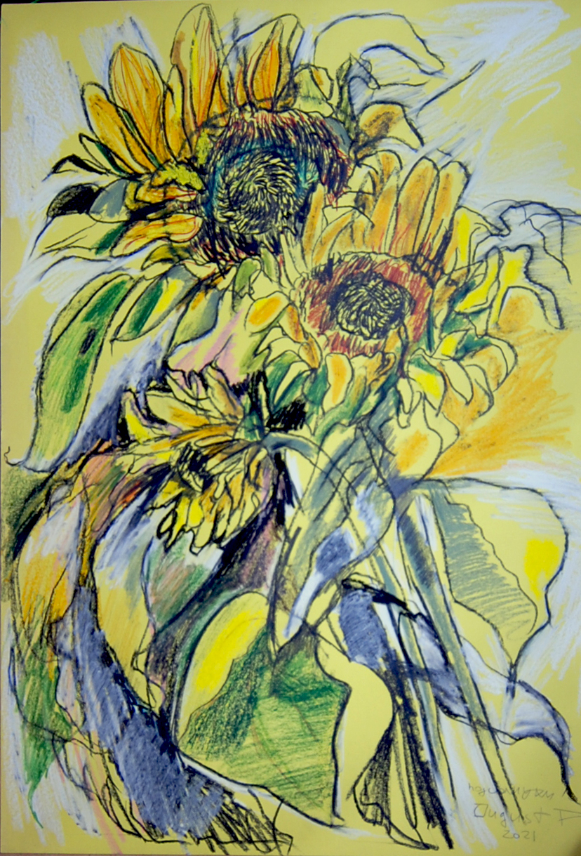 August sunflowers 2021